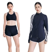 【南紡購物中心】【SARBIS】二件式泳裝加防曬外套附泳帽B932101