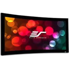 經典數位~ Elite Screens 億立 Curve135WH1 135吋 16:9 頂級弧形固定框架幕-4k劇院雪白