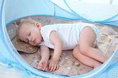 嬰兒蚊帳罩寶寶蒙古包免安裝可折疊支架有底嬰童床蚊帳罩0-3歲·享家