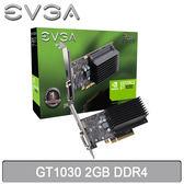 【免運費】EVGA 艾維克 GT1030 2GB DDR4 顯示卡 02G-P4-6232-KR