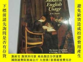 二手書博民逛書店A罕見Dictionary of Modern English