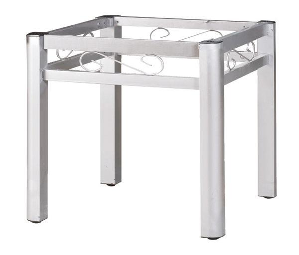 【 IS空間美學】3尺富貴餐桌腳(扇型腳/烤銀)