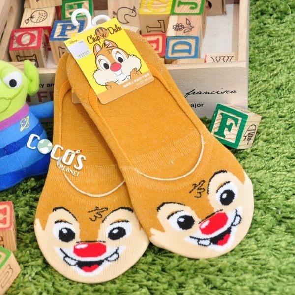 正版授權 迪士尼襪子 花栗鼠 蒂蒂 防滑短襪 船型襪 踝襪 止滑隱形襪 COCOS JD040