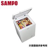 限量【SAMPO聲寶】98公升 上掀式冷凍櫃 SRF-102