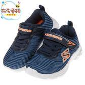 《布布童鞋》SKECHERS_ECLIPSOR系列藍色兒童機能運動鞋(13~18公分) [ N8Y030B ]