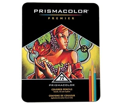 PRISMACOLOR Premier系列頂級油性色鉛筆*72c
