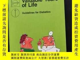 二手書博民逛書店valuable罕見years of life(袖珍外文漫畫)Y