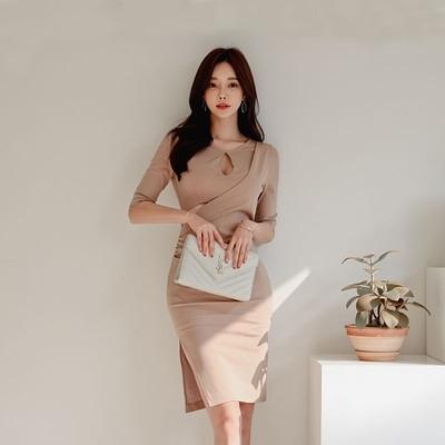 6501#夏新款韓版時尚性感禮服裙氣質收腰顯瘦包臀裙平時可穿H506快時尚