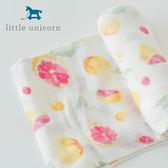 【愛吾兒】美國 Little Unicorn 竹纖維紗布巾單入組 柚美麗