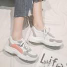 休閒鞋 2021秋季新款老爹運動鞋女韓版學生跑步百搭休閒潮板鞋帆布鞋 618購物
