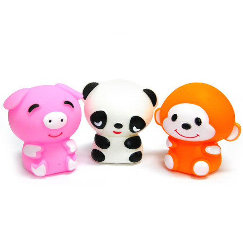 【奇買親子購物網】藝寶 動物洗澡玩具組(豬/熊/猴)