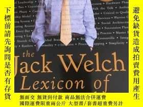 二手書博民逛書店The罕見Jack Welch Lexicon of Leade
