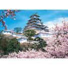 【台製拼圖】夜光-古城櫻花系列(6) (1600片) HM1600-005