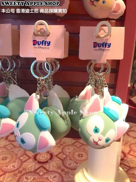 (現貨&樂園實拍) 香港迪士尼 樂園限定 達菲家族 畫家貓 大臉矽膠零錢包 掛鉤鑰匙圈 吊飾