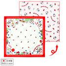 Hello Kitty手巾 點點造型日本製純綿100%雙面餐巾/桌巾/便當包巾 [喜愛屋]