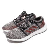 【六折特賣】adidas 慢跑鞋 PureBOOST GO 灰 紅 男鞋 編織鞋面 運動鞋【ACS】 F36193