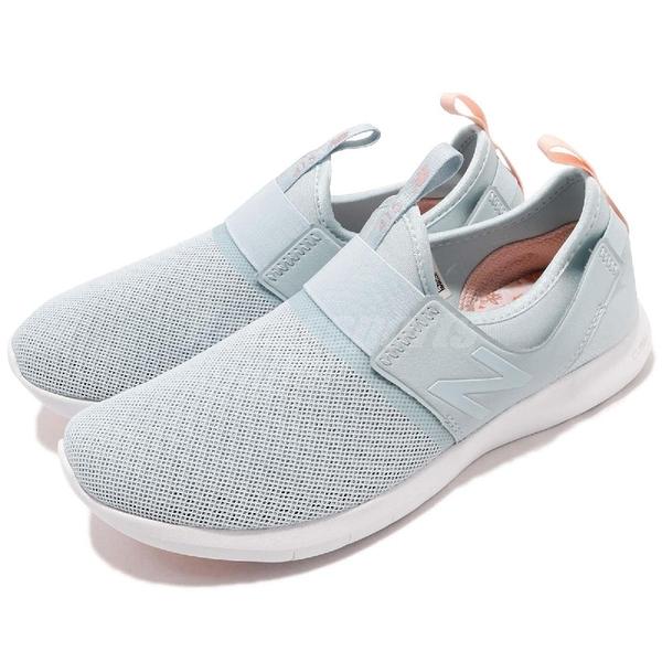 New Balance 慢跑鞋 415 NB 綠 粉紅 繃帶設計 無鞋帶 基本款 運動鞋 女鞋【ACS】 WL415SLD