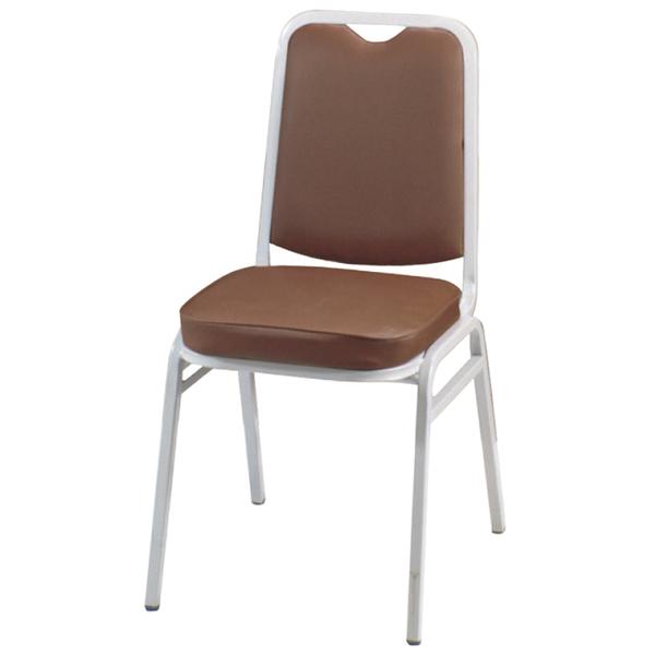 【采桔家居】哈格 時尚皮革造型餐椅二入(二色可選)