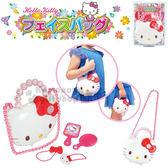 〔小禮堂〕Hello Kitty 梳妝組附造型提盒玩具《白.大臉.泡殼》適用3歲以上4978902-00393
