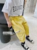 2020童裝夏季防蚊褲男童天絲棉工裝褲兒童韓版寬鬆休閒褲寶寶褲子 幸福第一站