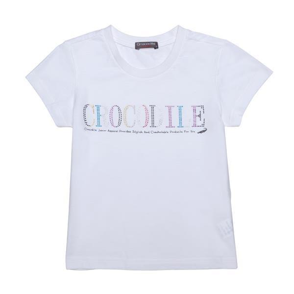 『小鱷魚童裝』燙鑽 LOGO T恤(08號~20號)531453