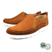 【Panama Jack】皮革簡約休閒男鞋 深棕(P6038-DBR)
