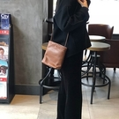 真皮側背包-簡約復古柔軟牛皮女肩背包5色73zu32[巴黎精品]