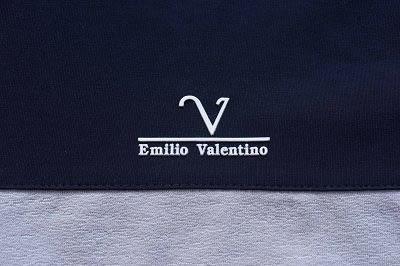 Emilio Valentino范倫鐵諾機能舒適彈力長袖圓T (白)
