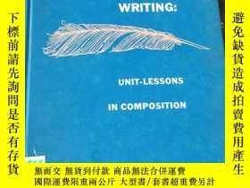二手書博民逛書店(英文原版)Writing:罕見Unit-Lessons in