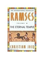 二手書博民逛書店 《Ramses: The Eternal Temple》 R2Y ISBN:0446673579│Jacq
