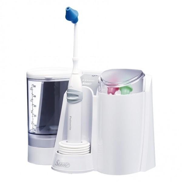 善鼻脈動式洗鼻器-家庭型 SH953 (內附3支洗鼻桿),加贈鹽1袋共60包(數量有限,送完為止)