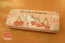 Hello Kitty&Toripicals 凱蒂貓 熱帶水果鳥 寬雙層筆盒 鐵筆盒 鉛筆盒 KRT-217260