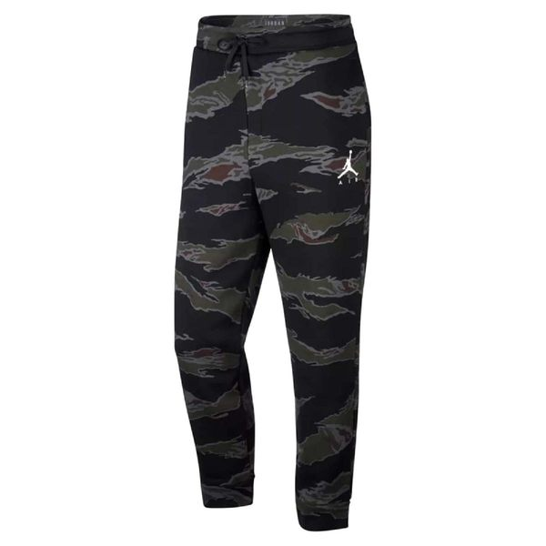 Nike 長褲 Jordan Jumpman Camo Fleece Trousers 黑 迷彩 棉褲 男款 【PUMP306】 AV2317-010
