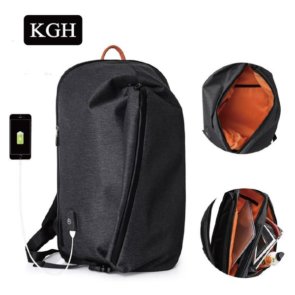 KGH 大容量後背包防水電腦包