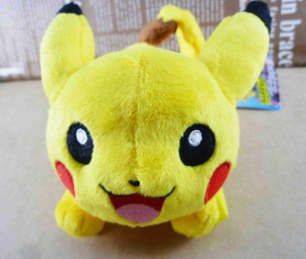 【震撼精品百貨】神奇寶貝_Pokemon~夾式娃娃-笑臉造型