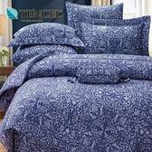 ✰特大 薄床包兩用被四件組✰ 100%純天絲《瑪蕾尼》