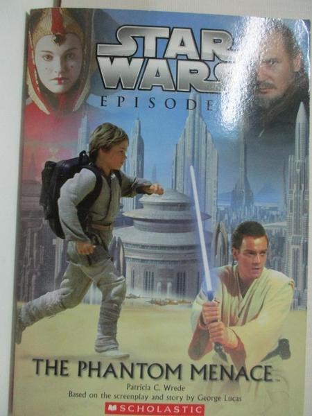 【書寶二手書T1/原文小說_BU7】Star Wars, Episode I - The Phantom Menace