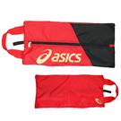 (B3) ASICS 亞瑟士 鞋袋 手提包 透氣 台灣製 Y12001-23 紅 [陽光樂活]