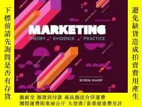 二手書博民逛書店Marketing:罕見Theory Evidence Practice-市場營銷:理論證據實踐Y436638