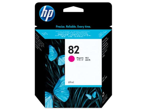 [奇奇文具]【HP 墨水匣】HP C4912A (C4912)/NO.82繪圖機原廠紅色墨水匣