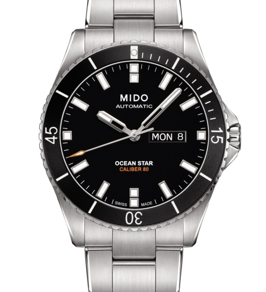 MIDO 美度 Ocean Star 海洋之星潛水腕錶(M0264301105100)黑水鬼42mm