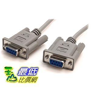 [103美國直購] StarTech.com 10-Feet DB9 RS232 Serial Null Modem Cable F/F (SCNM9FF) 電纜 $484
