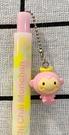【震撼精品百貨】粉紅小巧猴_Chi Chai Monchan ~三麗鷗 粉紅小巧猴2用筆/原子筆-粉#52812