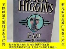 二手書博民逛書店EAST罕見OF DESOLATION.JACK HIGGINS 英文原版小說Y22565 JACK HIGG