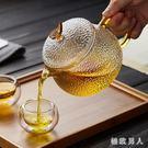 玻璃茶壺耐高溫加厚單壺小號紅茶茶具過濾耐熱家用煮茶泡茶壺套裝 LJ8950【極致男人】