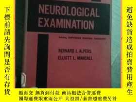 二手書博民逛書店英文書罕見essentials of the neurological examination神經檢查要領Y1
