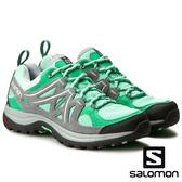 【SALOMON 法國】女 ELLIPE2 AERO低筒登山鞋『玻璃綠/珍珠灰』379222 多功能鞋.健行鞋.登山鞋