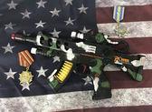 兒童聲光電動小孩塑料仿真手槍寶寶沖鋒2-3歲男孩男童玩具槍msa 降價兩天