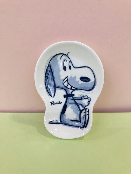 【震撼精品百貨】史奴比Peanuts Snoopy ~SNOOPY小碟子/醬油碟-坐#86284