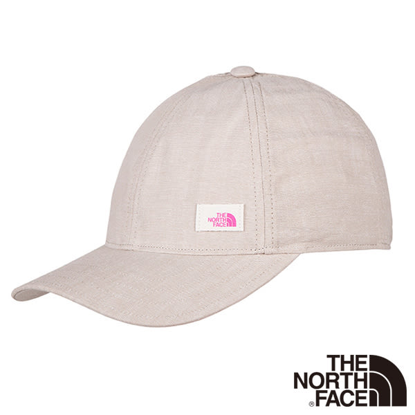 The North Face 女 抗UV遮陽帽-灰棕 【GO WILD】